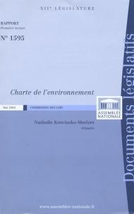 Nathalie Kosciusko-Morizet - Rapport relatif à la Charte de l'environnement.