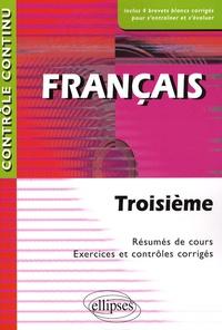 Nathalie Laurent et Alice Guay - Français 3e Contrôle continu.