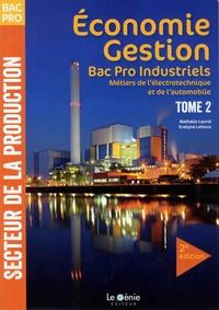Histoiresdenlire.be Economie-Gestion Bac Pro industriels Métiers de l'électronique et de l'automobile - Tome 2 Image