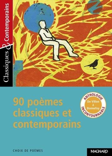 90 poèmes classiques et contemporains