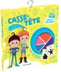 Nathalie Lescaille et Alice Turquois - Casse-tête - 1 livret, 20 cartes, 2 casse-tête en métal et 1 tangram.