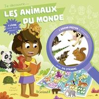 Nathalie Lescaille et Maud Lienard - Les animaux du monde - Avec un grand poster à compléter et 175 stickers.