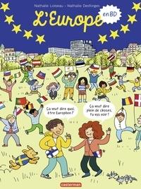 Nathalie Loiseau et Nathalie Desforges - L'Europe en BD.