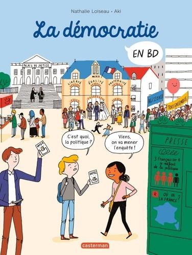 Nathalie Loiseau et  Aki - La démocratie en BD.