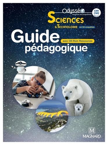 Nathalie Lollier-Reuss et Véronique Batréau - Sciences & Technologie en 50 enquêtes CM1-CM2 Odysséo - Guide pédagogique. 1 Cédérom
