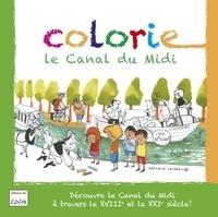 Nathalie Louveau - Colorie le canal du midi.