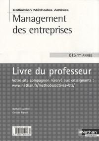 Nathalie Lucchini et Clotilde Ripoull - Management des entreprises BTS 1re année - Livre du professeur.