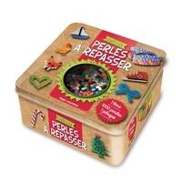 Nathalie Mabire - Perles à repasser - Avec 1 plaque à picots, 1000 perles, du papier sulfurisé.