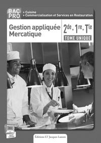 Era-circus.be Gestion appliquée Mercatique 2e, 1re, Tle Bac Pro - Livre du professeur Image