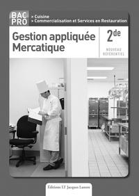 Nathalie Montargot - Gestion appliquée Mercatique 2e Bac Pro - Livre du professeur.