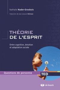 Nathalie Nader-Grosbois - La théorie de l'esprit - Entre cognition, émotion et adaptation sociale.
