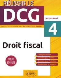 Nathalie Orcel - Droit fiscal UE 4.