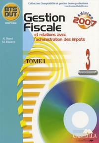 Nathalie Orcel et Michel Rivière - Gestion fiscale et relations avec l'administration des impôts BTS/DUT - Processus 3 Tome 1.