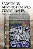 Nathalie Patouossa - Sanctions administratives communales - Applications du nouveau régime.