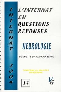 Nathalie Patte-Karsenti - Neurologie.