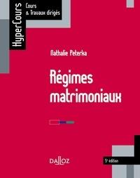 Nathalie Peterka - Régimes matrimoniaux.