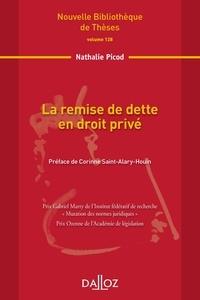 Nathalie Picod - La remise de dette en droit privé.