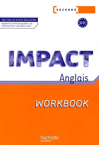 Impact Anglais Seconde Workbook