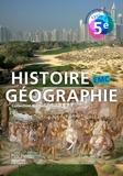 Nathalie Plaza et Stéphane Vautier - Histoire Géographie EMC 5e Cycle 4.