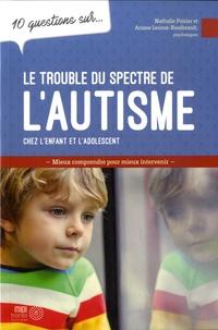 Nathalie Poirier et Ariane Leroux-Boudreault - 10 questions sur le trouble du spectre de l'autisme chez l'enfant et l'adolescent.