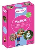 Nathalie Quiquempois - Webox : 10 idées figurines à modeler soi-même - Avec 2 boîtes de WePam (6 couleurs différentes) et 1 moule tête et mains.