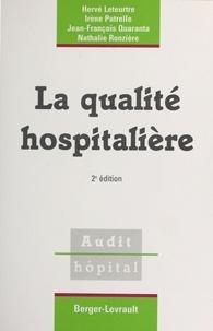 Nathalie Ronziere et Hervé Leteurtre - .