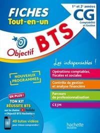Nathalie Rubaud et Mohamed Kébli - Objectif BTS CG Comptabilité Gestion 1re et 2e années - Fiches  Tout-en-un.