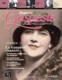 Nathalie Spooner et Jean-Marie Fallu - Magazine Gaspésie. Vol. 51 No. 2, Juillet-Octobre 2014 - La Gaspésie chantée.