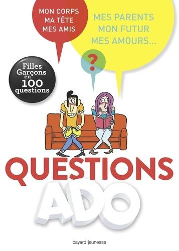 Nathalie Szapiro-Manoukian et Sylvie Friedman - Questions ado filles-garçons en 100 questions.