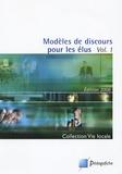 Nathalie Thouly - Modèles de discours pour les élus - Volume 1 et 2.