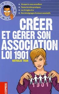 Nathalie Tran - Créer et gérer son association Loi 1901.