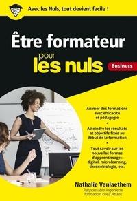 Nathalie Vanlaethem - Etre formateur pour les nuls - Business.