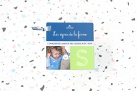 Nathalie Vigneau et Karine Da Silva - Les signes de la ferme - Imagier de Langue des Signes avec Bébé.