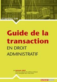 Deedr.fr Guide de la transaction en droit administratif Image