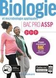 Nathalie Vouriot - Biologie et microbiologie appliquées 2de-1re-Tle Bac Pro ASSP.