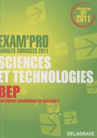 Nathalie Vouriot-Gieure - Exam'Pro Sciences et technologies Epreuve EP2 BEP - Annales corrigées 2011.