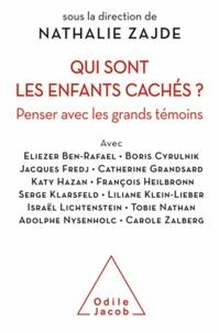 Nathalie Zajde - Qui sont les enfants cachés ? - Penser avec les grands témoins.