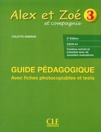 Nathan - Alex et Zoé - Niveau 3, livre du professeur avec évaluations.