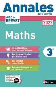 Nathan - Annales Brevet Mathématiques 3e - Sujets et corrigés.
