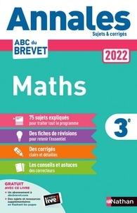 Nathan - Annales Brevet Maths 3e - Sujets et corrigés.