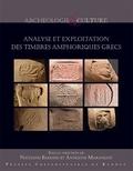 Nathan Badoud et Antigone Marangou - Analyse et exploitation des timbres amphoriques grecs.
