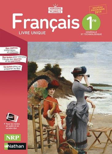 Francais 1re Horizons Pluriels Livre De L Eleve Grand Format