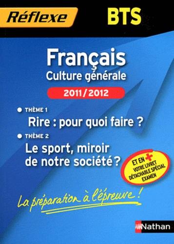 Francais Bts Culture Generale Theme 1 Rire Pour Quoi Faire Theme 2 Le Sport Miroir De Notre Societe