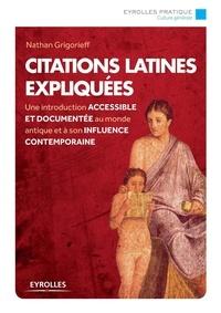 Nathan Grigorieff - Citations latines expliquées.