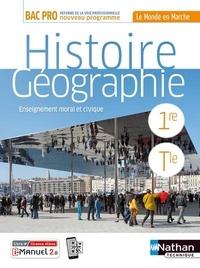 Nathan - Histoire-Géographie - Enseignement moral et physique 1re/Tle Bac Pro.