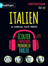 Italien, la méthode 100% audio - Initiation, niveau atteint A2.pdf