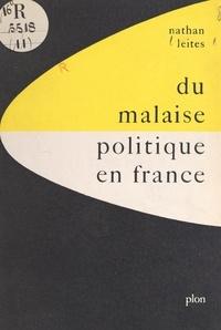 Nathan Leites et  Fondation Rand - Du malaise politique en France.