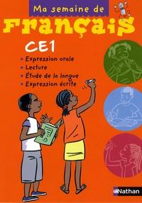 Nathan - Ma semaine de français CE1.