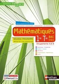 Nathan - Mathématiques 1re Tle Bac Pro - Groupements A et B Pavages.