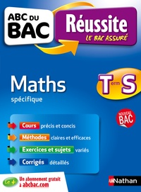Nathan - Maths Tle S spécifique.
